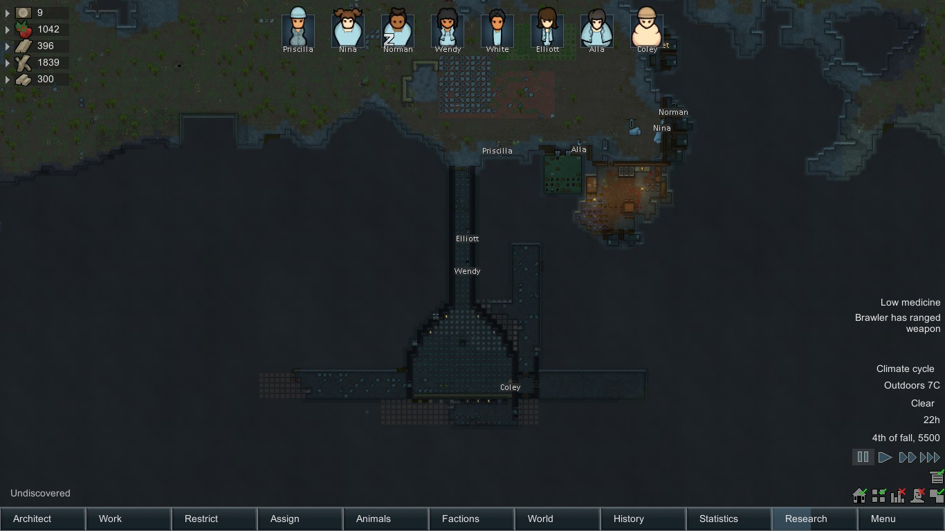 rimworld how to stop colonist being nude