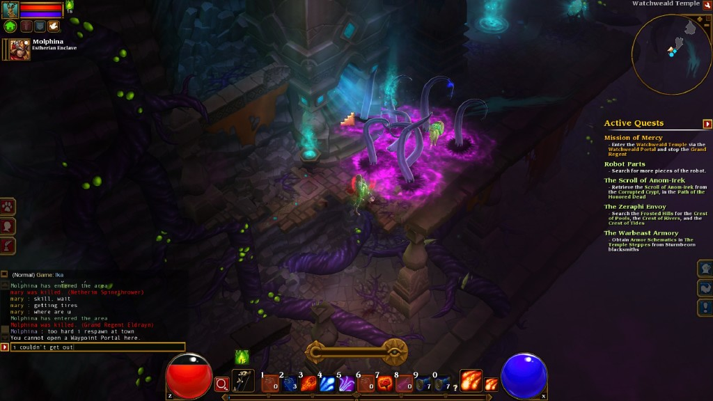 torchlight 2 how to get to tarroch tomb