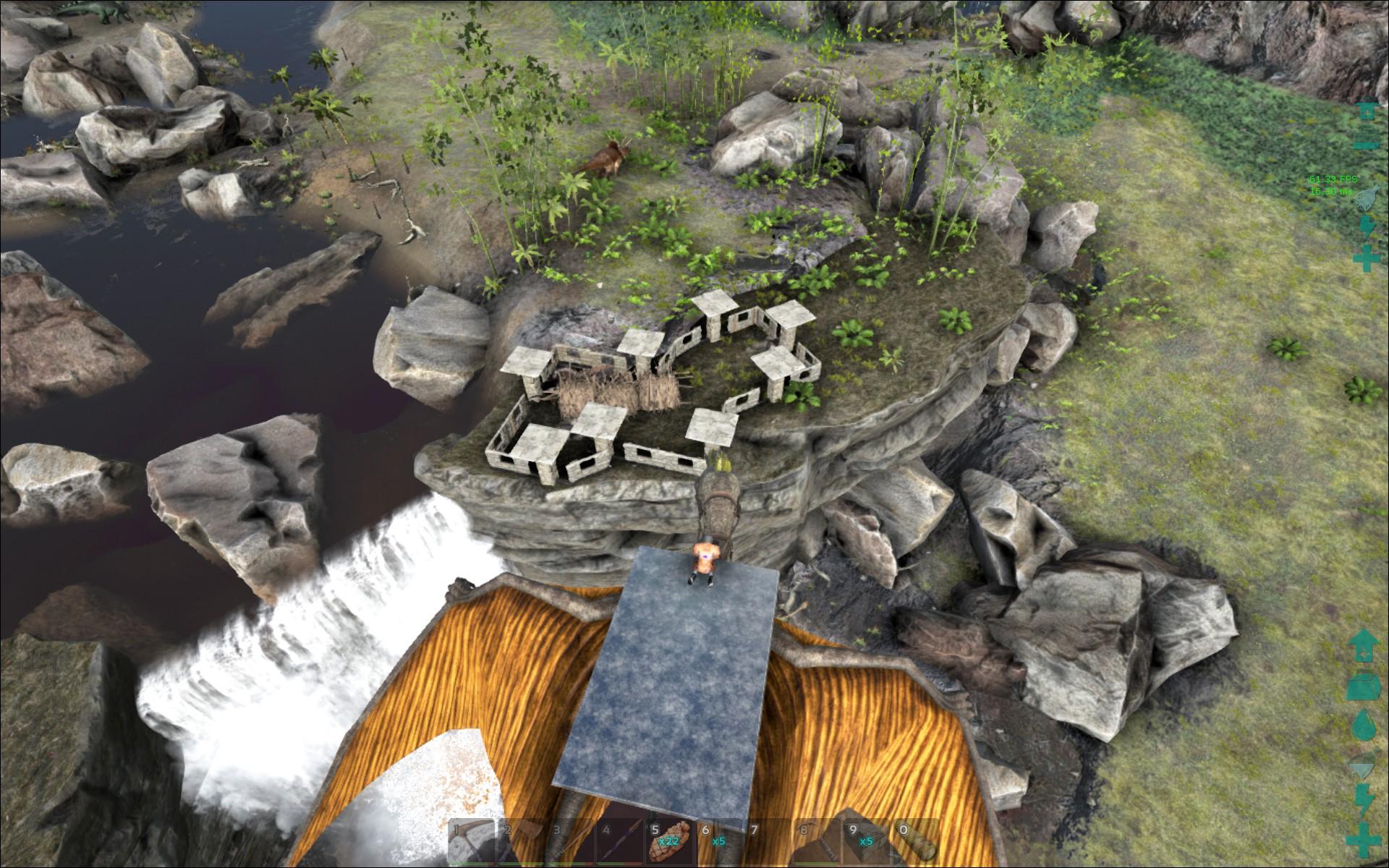 [FR] Ark Survival Evolved - Ep 064 - Ferme à barrage de ...   Ark Beaver Dam