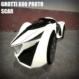 steam workshop gta v grotti x80 proto scar. Black Bedroom Furniture Sets. Home Design Ideas