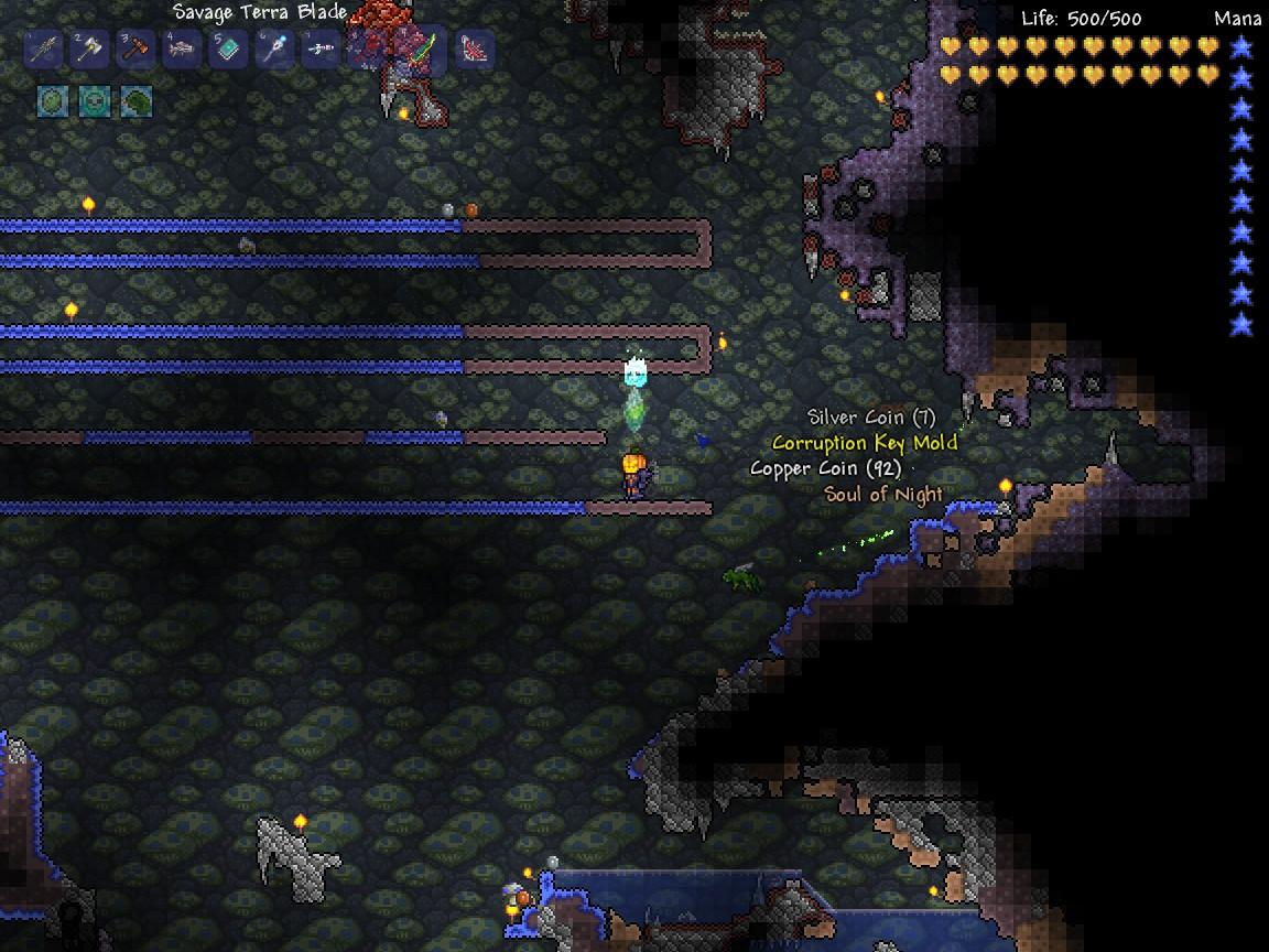 how to get keys terraria