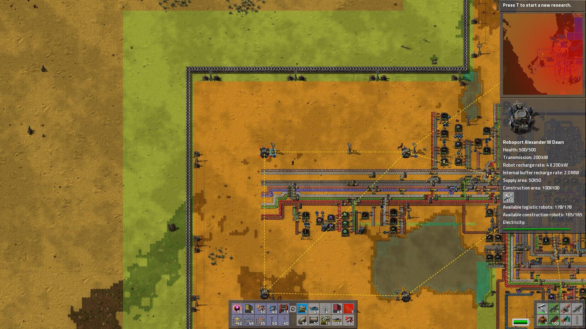 Factorio Drons