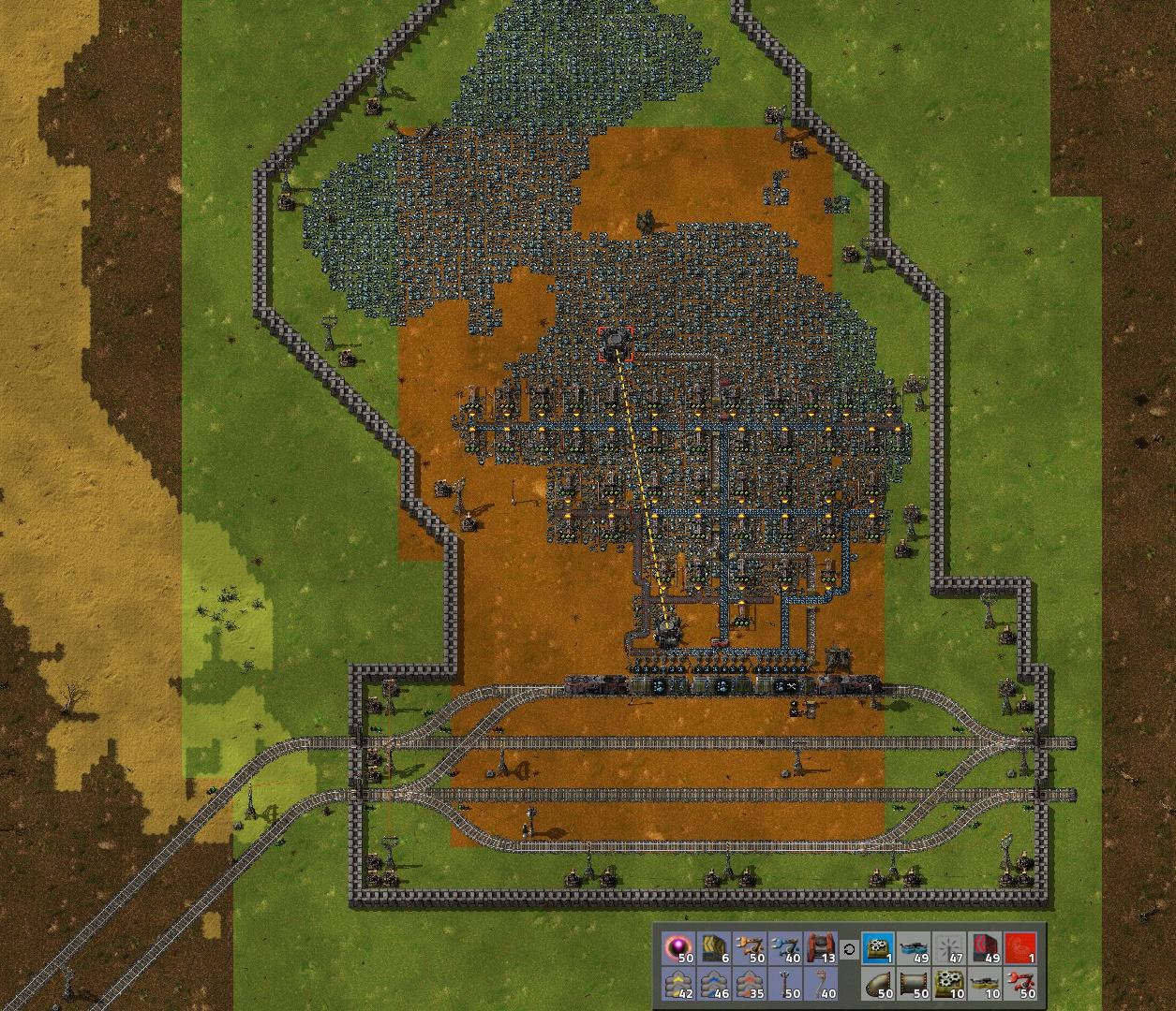 Factorio Oupost