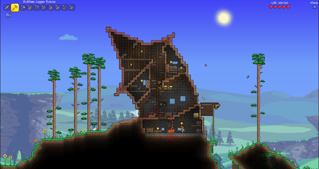 Steam Community Terraria Well My House Damaged By Wind
