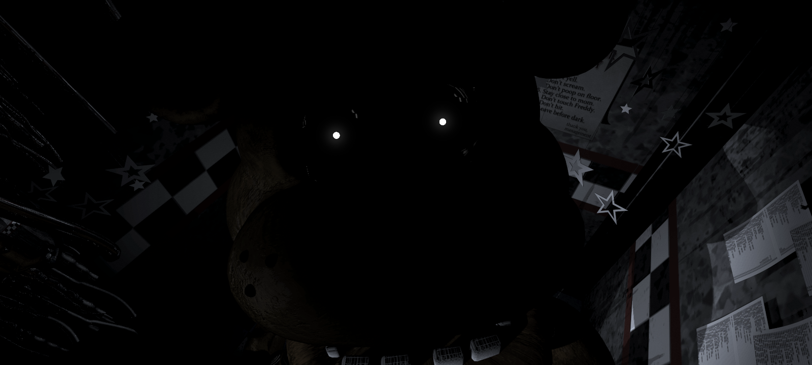 Another vital part to knowing how close freddy is to you is