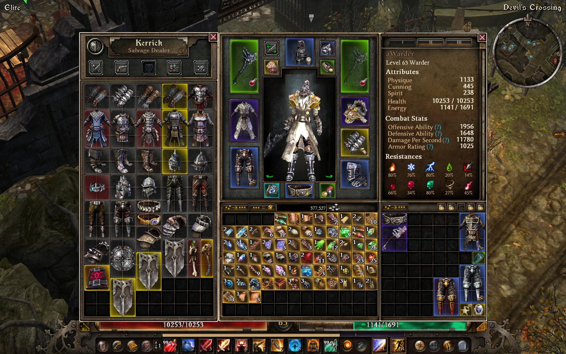 Grim Dawn Character Slots