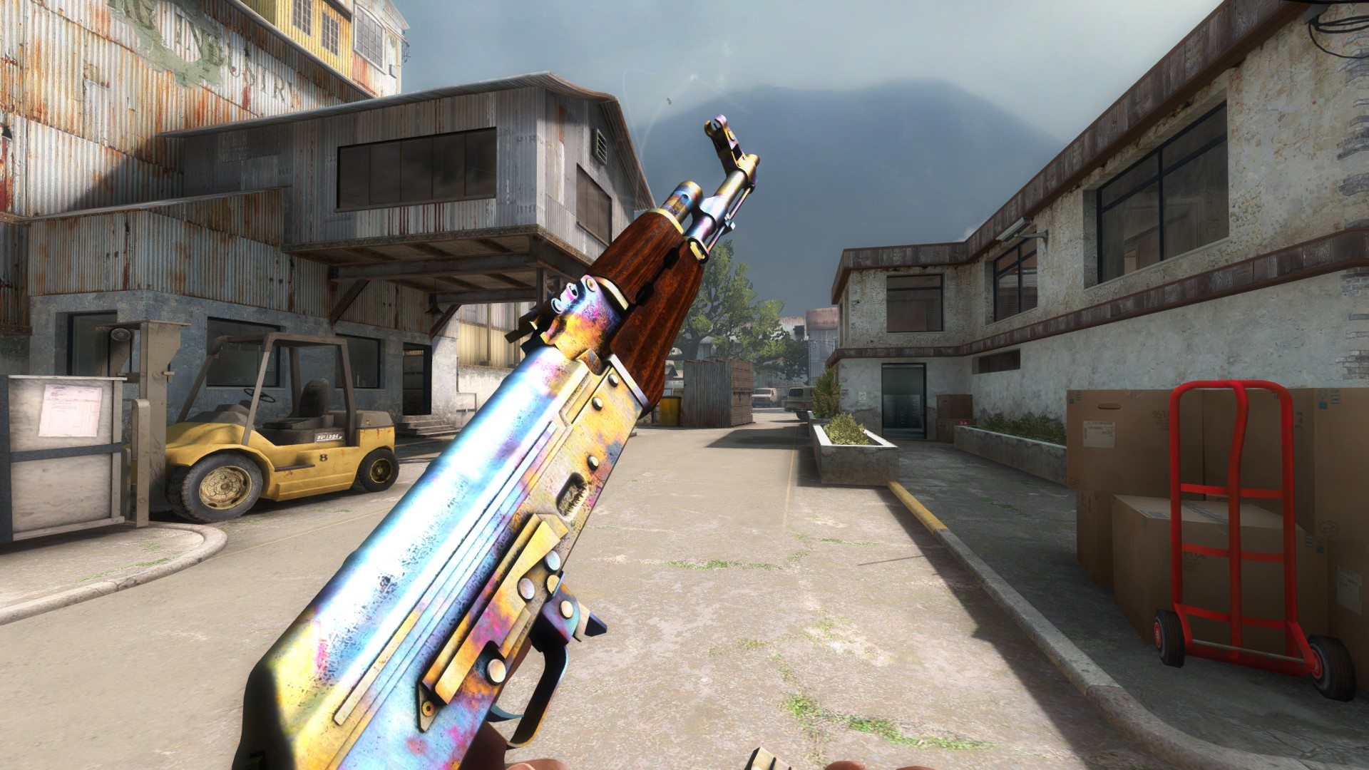 Case Hardened Blue Top Case Hardened Blue Gem