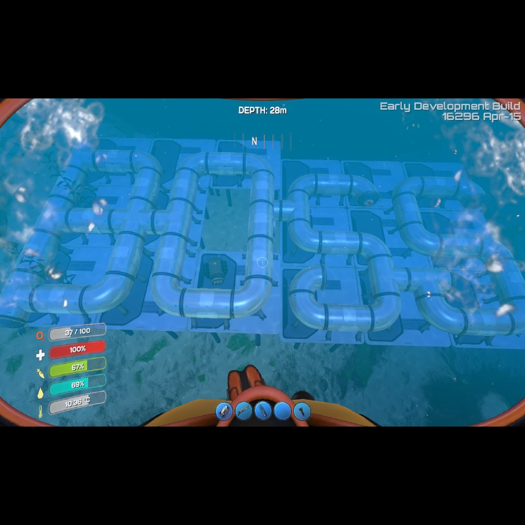 Subnautica Can You Build Inside The Alien Base