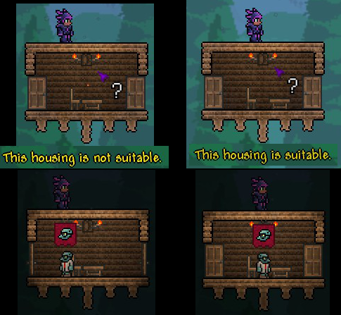 terraria how to delete wood walls