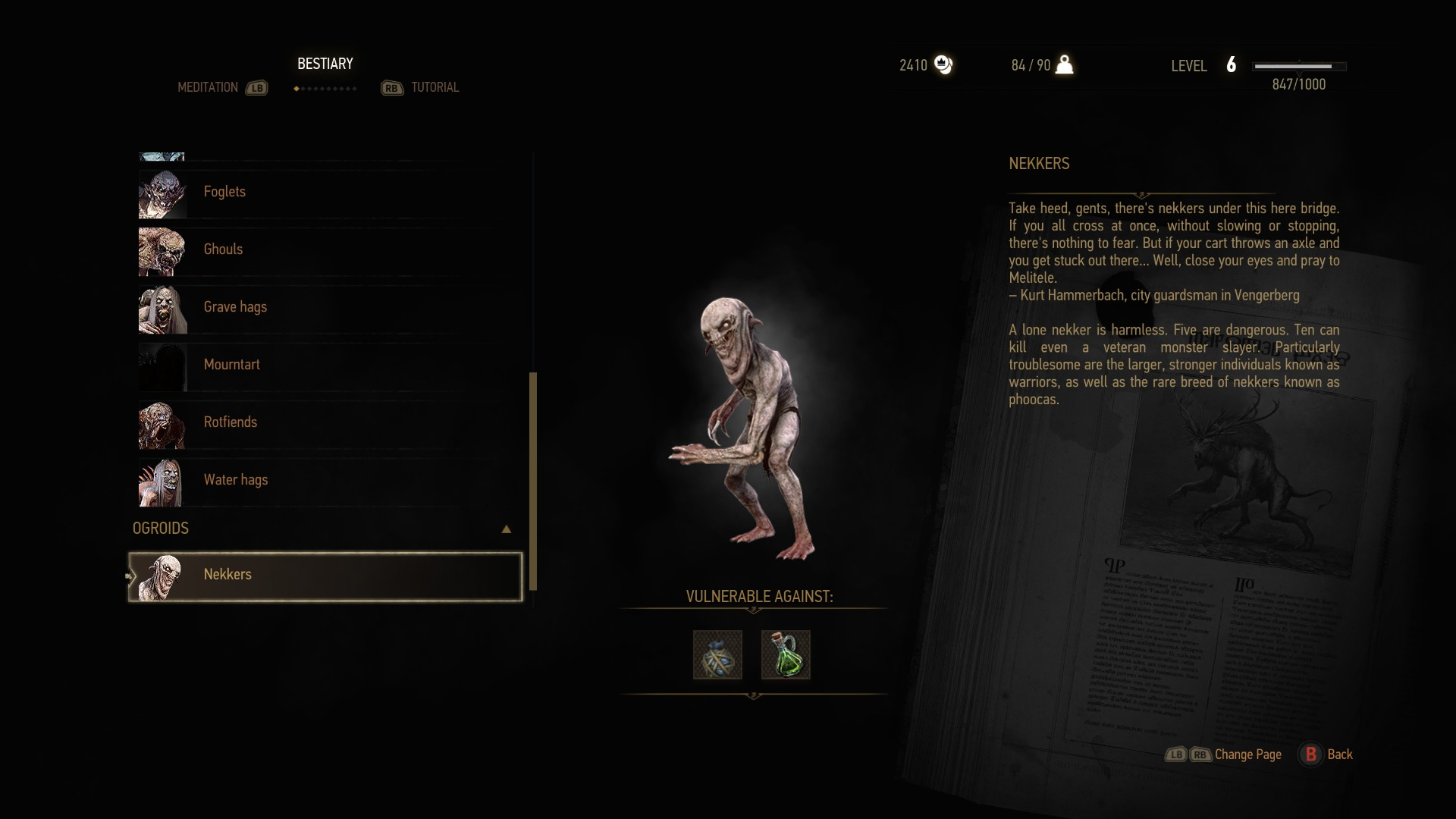 Witcher  Crafting What Time Keep