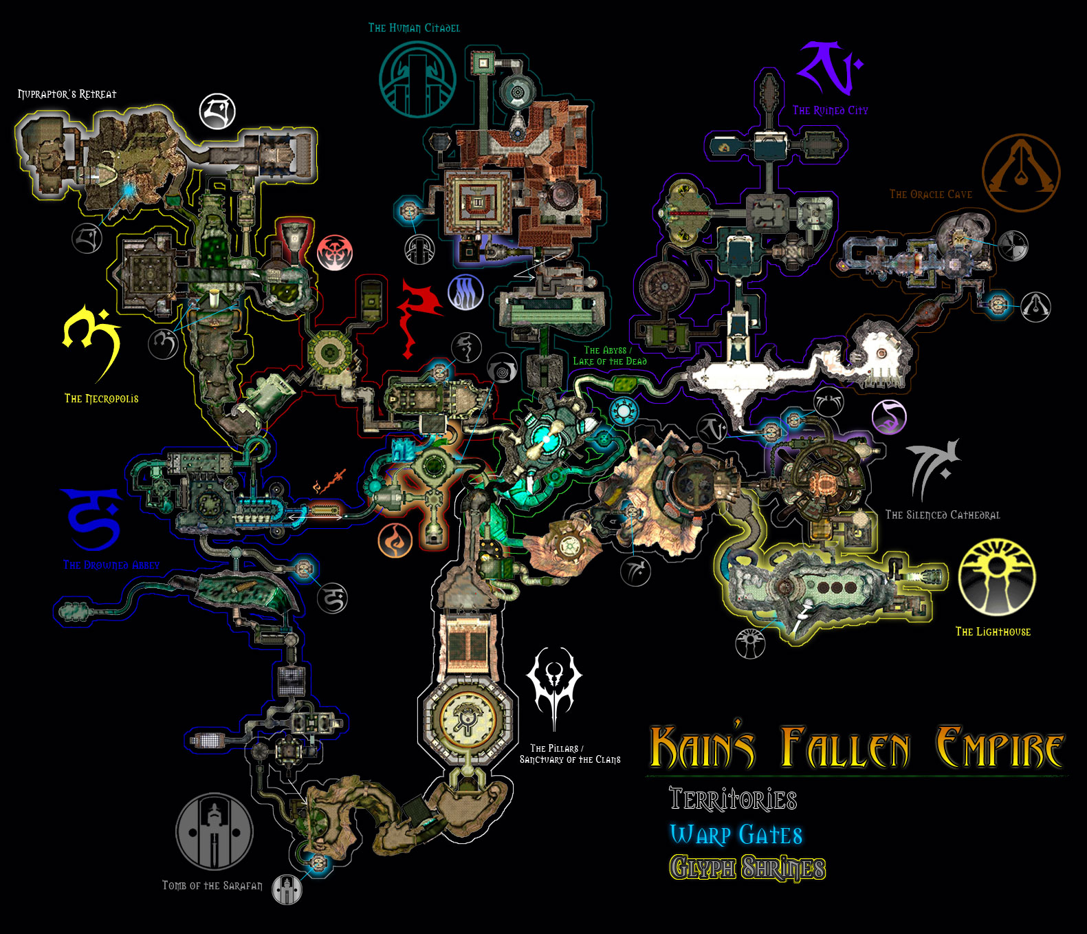 Steam Community Guide Map Of Nosgothic Realm
