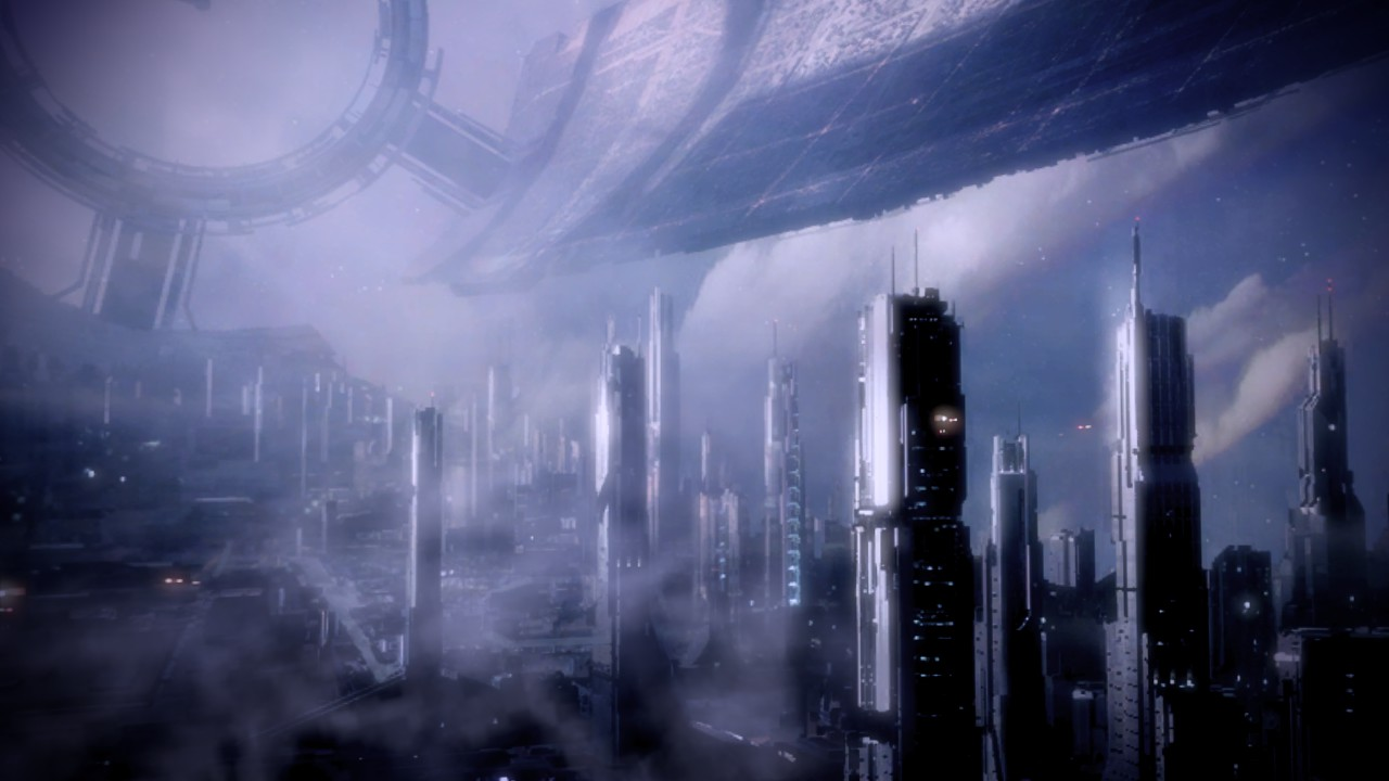 Mass Effect Citadel Wallpaper 1st Council Period 500 Bce