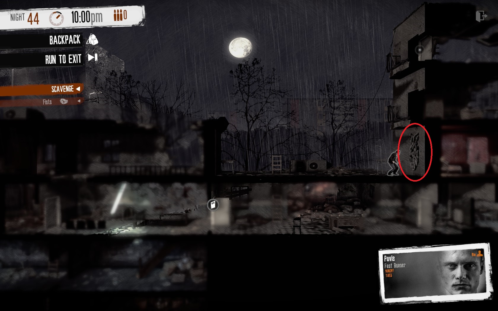 this war of mine how to find location
