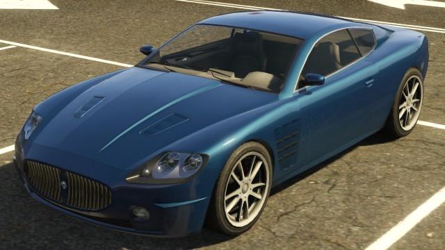 Gta  Sports Car Ocelot F