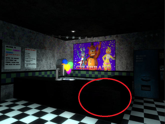Guide how to find all of the fnaf plushies in fnaf 2 no events map