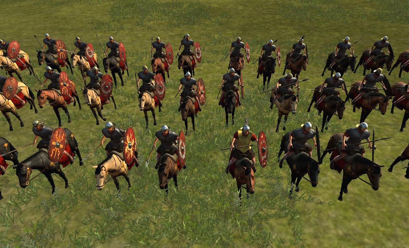 Auxiliary Tarentine Cavalry Auxiliary Cavalry