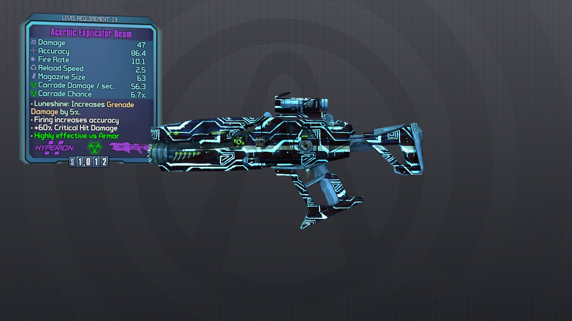 borderlands 1 how to make a one hit kill weapon