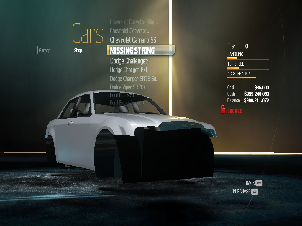 Need for Speed Undercover Beta camero | Need For Speed Theories