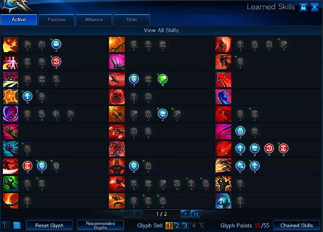 Lancer Build Tera Online