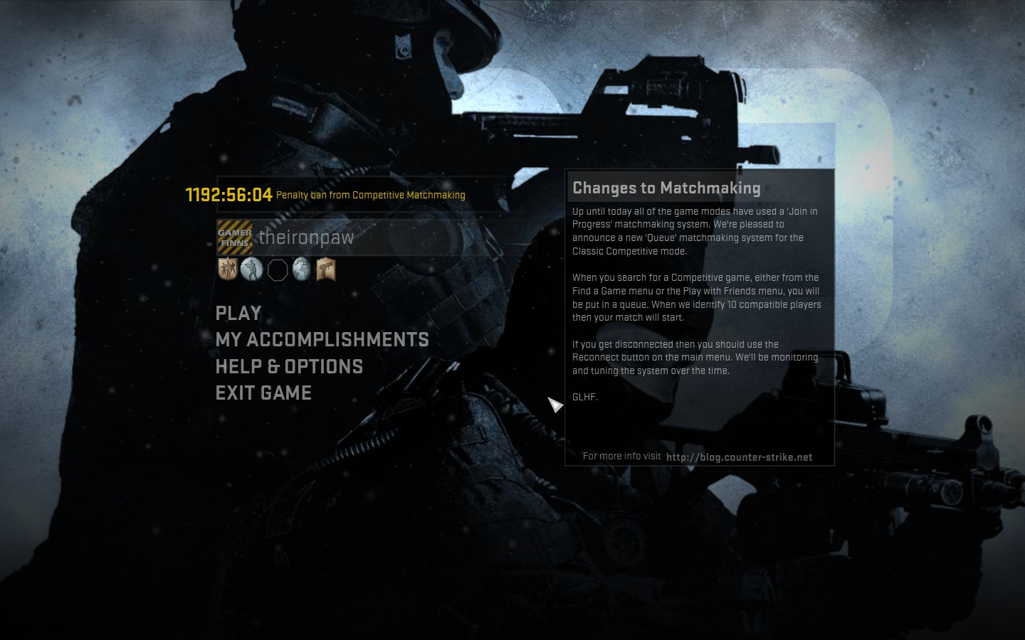 Halo reach matchmaking ban quitting