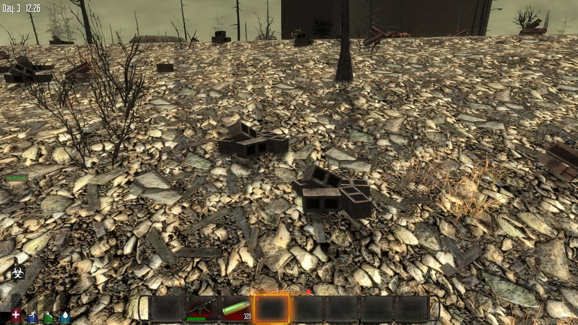 Building In The Burnt Biome  Days To Die