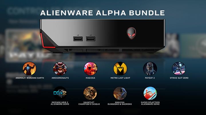 alienware alpha games