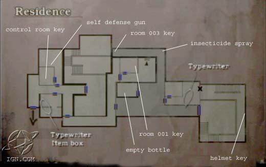 Control Room Key In Resident Evil Revelations