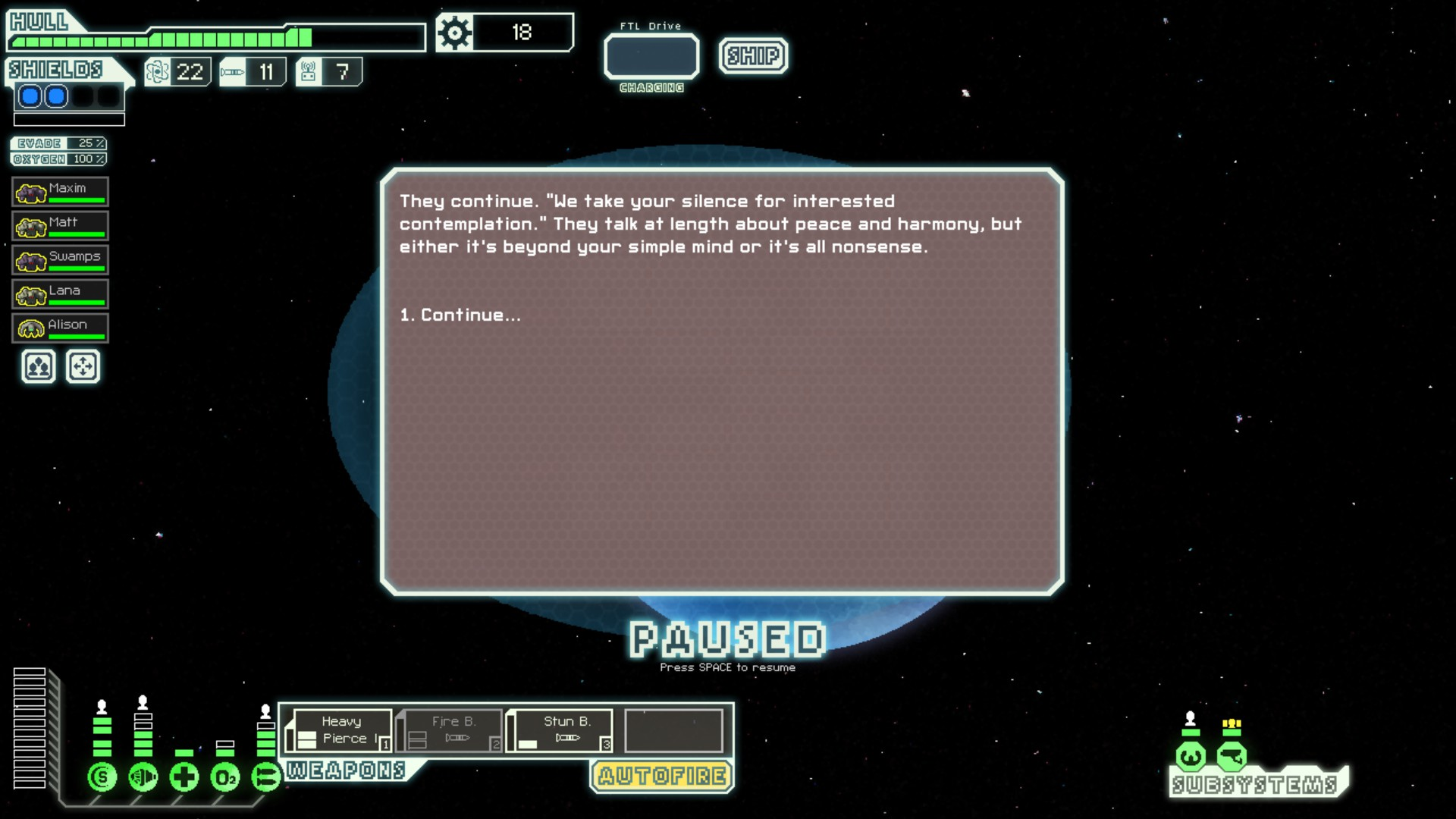 ftl how to get unidentified cruiser