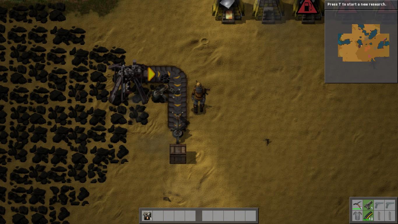 Craft All Inserters Factorio