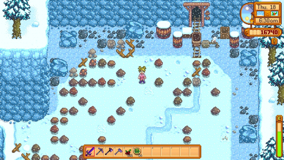 stardew valley how to get hardwood fast
