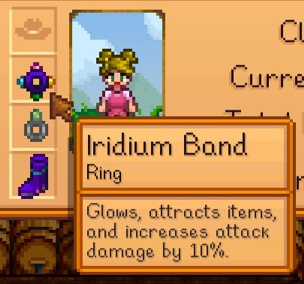 Small Glow Ring Stardew Valley