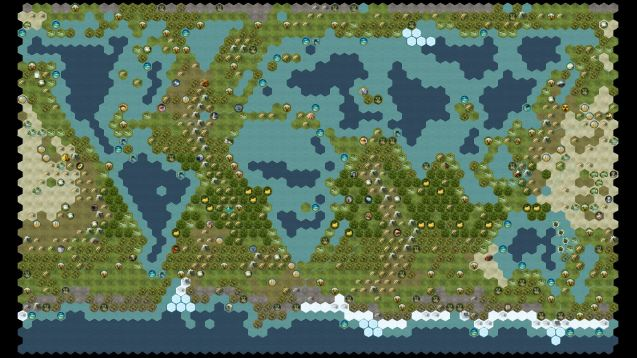 Steam Workshop Inverted Earth – Civ 5 World Map