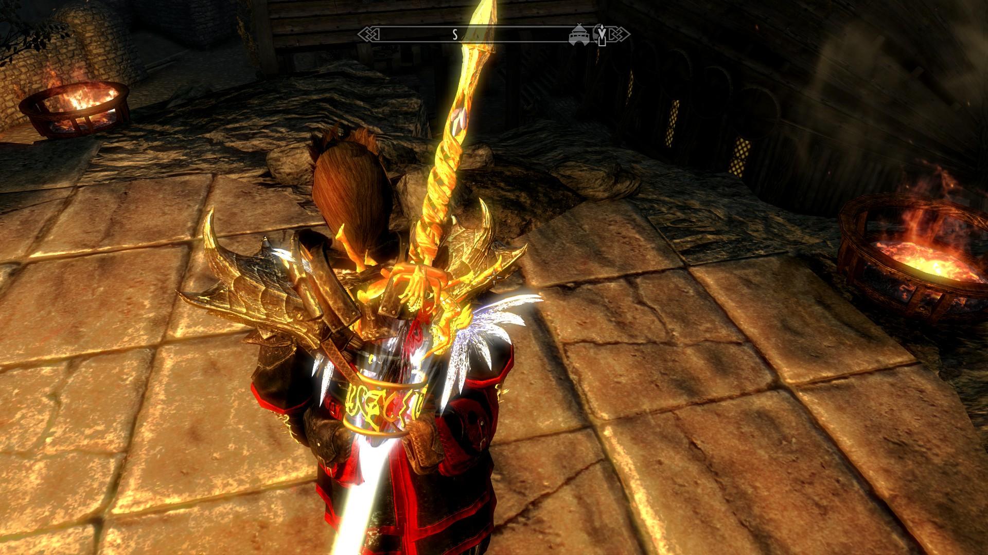 Скачать мод на скайрим на мечи джедаев