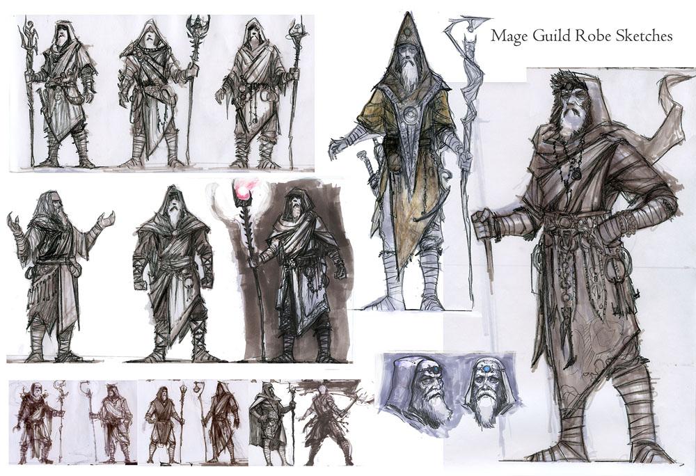 Ruelderscrolls,одежда (oblivion),the elder scrolls iv: oblivion,зелёный шёлковый капюшон,капюшон архимага