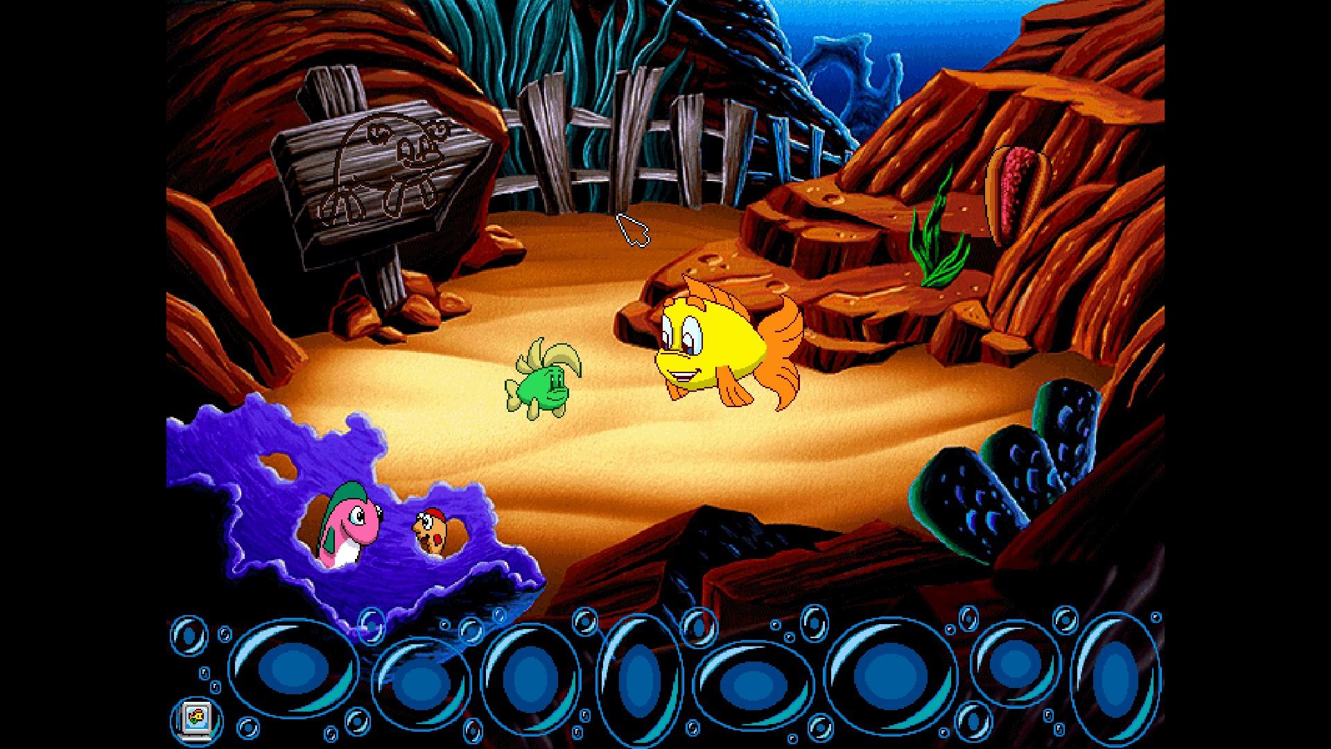 Steam community freddi fish 4 the case of the hogfish for Freddi fish 5