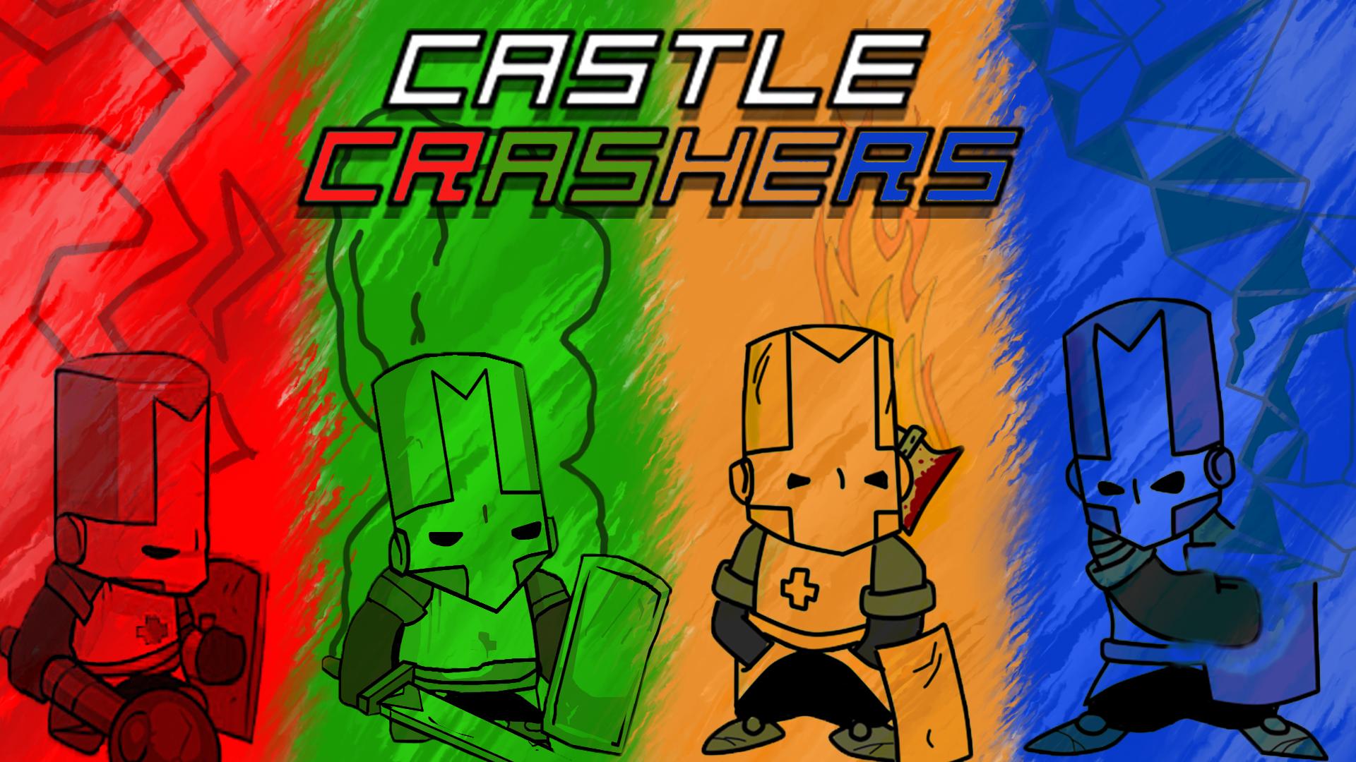 steam community 1920x1080 castle crashers background