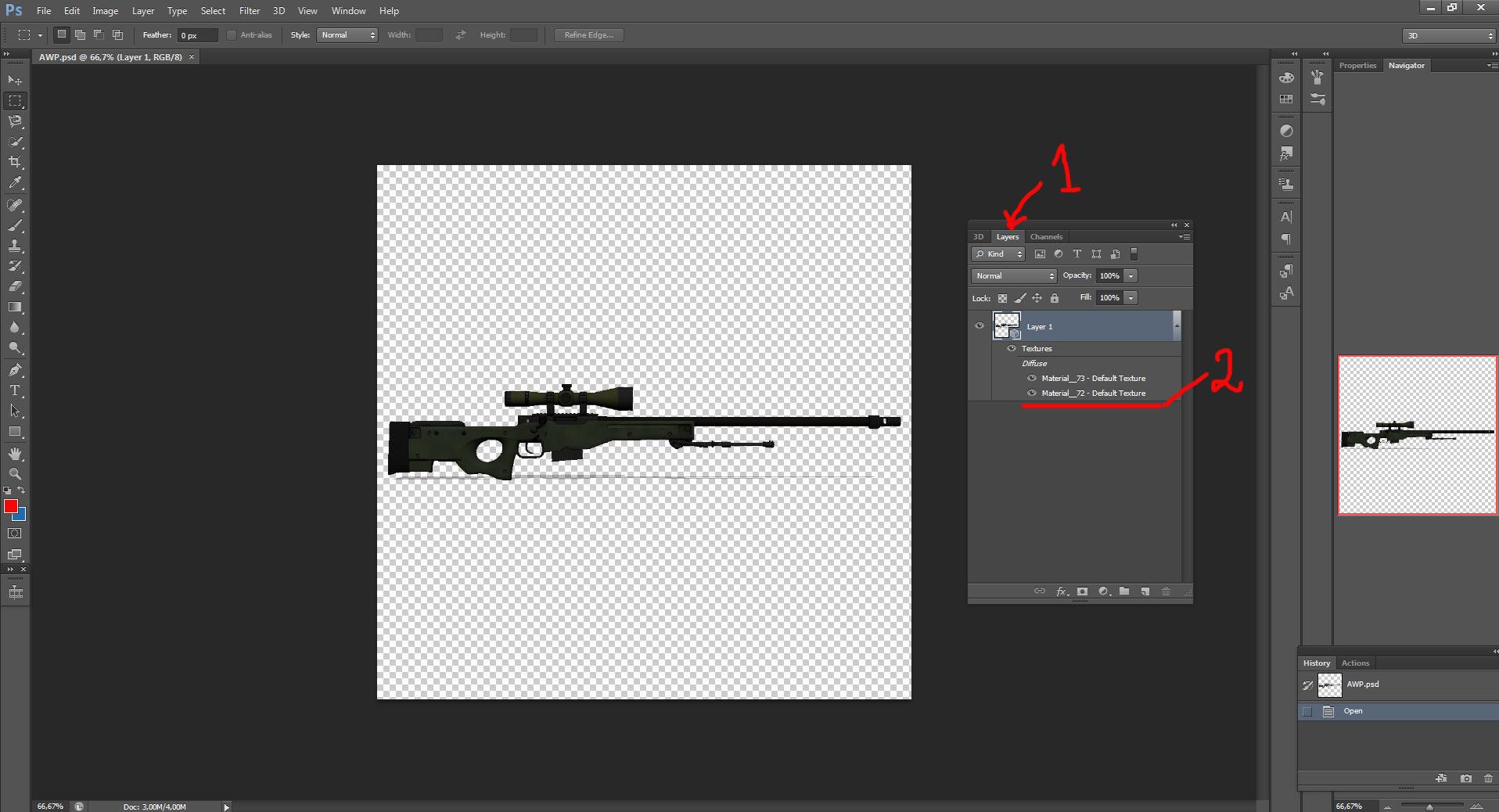 Как создать оружие в CS GO