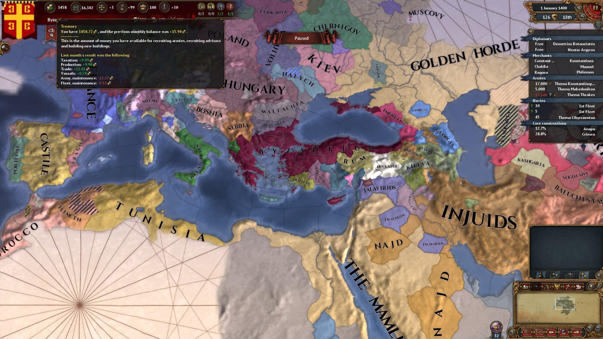 Byzantium Strategy :: Europa Universalis IV General ...