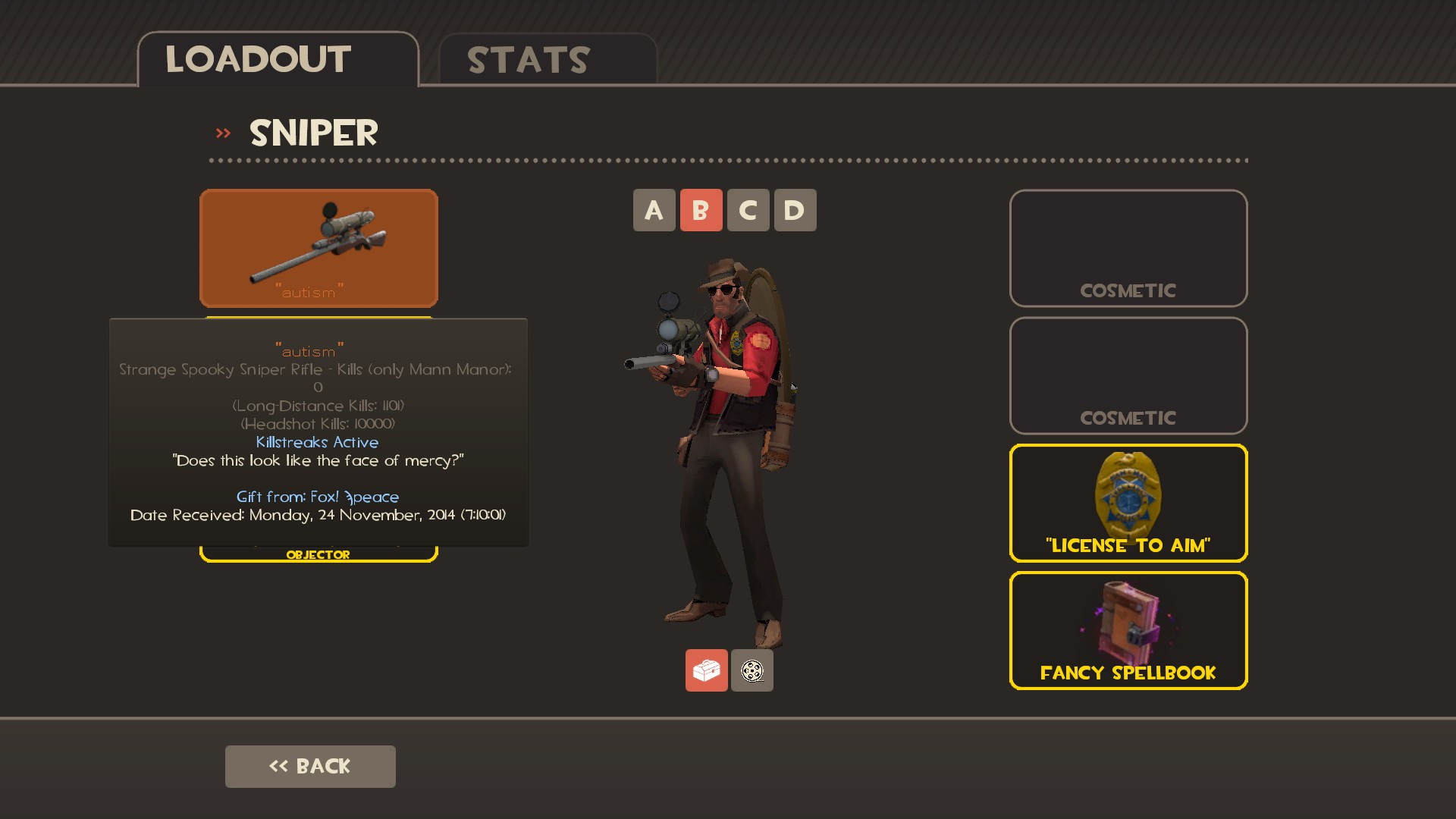Tf2 soldier cosmetics quotes -  And Highlander I Am A Member Of The Group Auto Arrow Auto Aim S Huntsman Counterpart Sniper Is My Most Played Class And I Have Become Proficient At