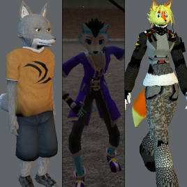 Custom Furry Playermodel Gmod - 0425