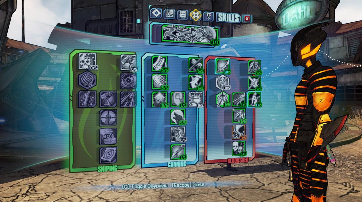 Best Build For Zero Borderlands