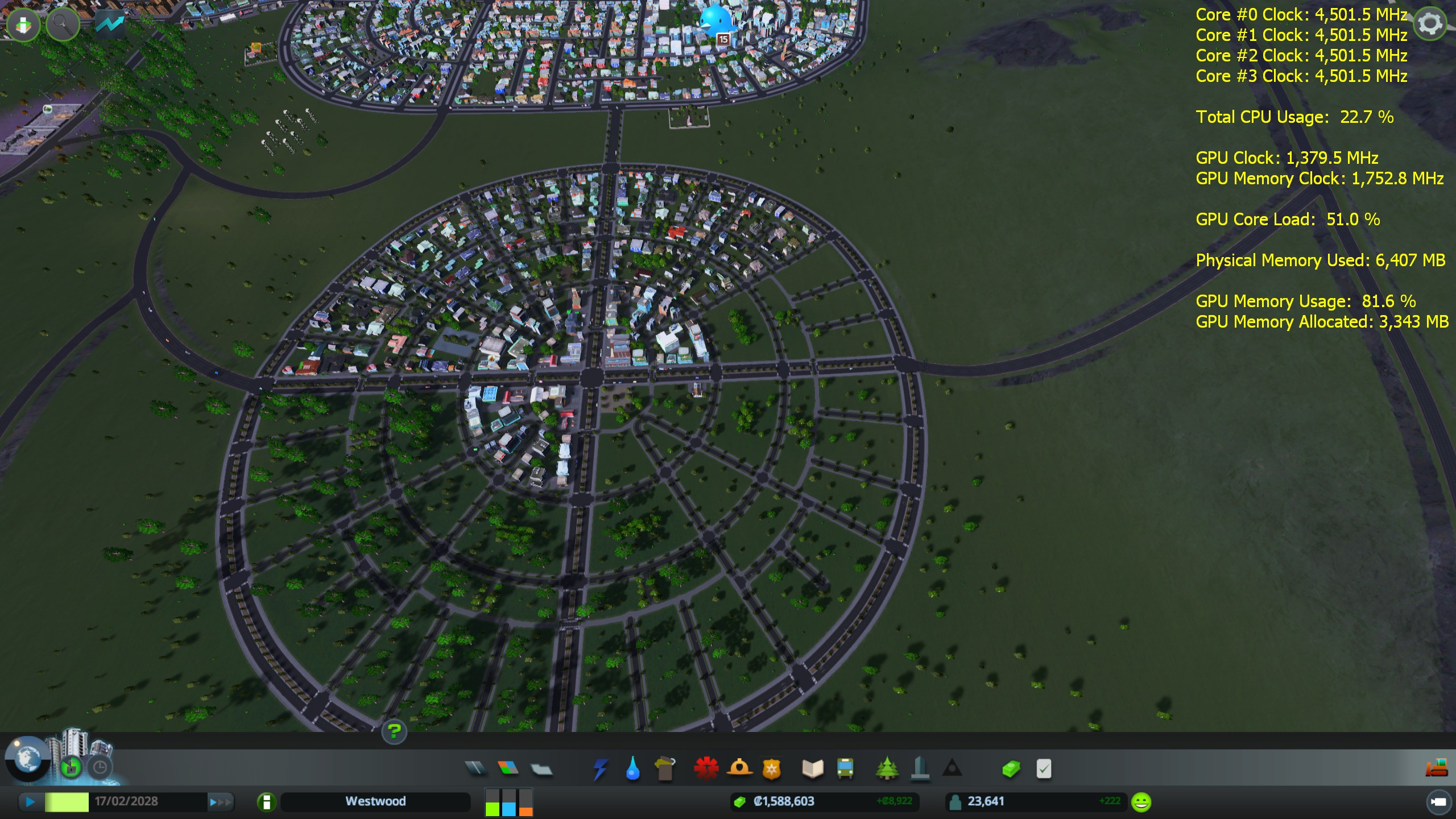 Performance poll/survey - how does cities skylines run for you and