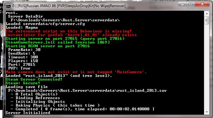 Как создать rcon для своего сервера
