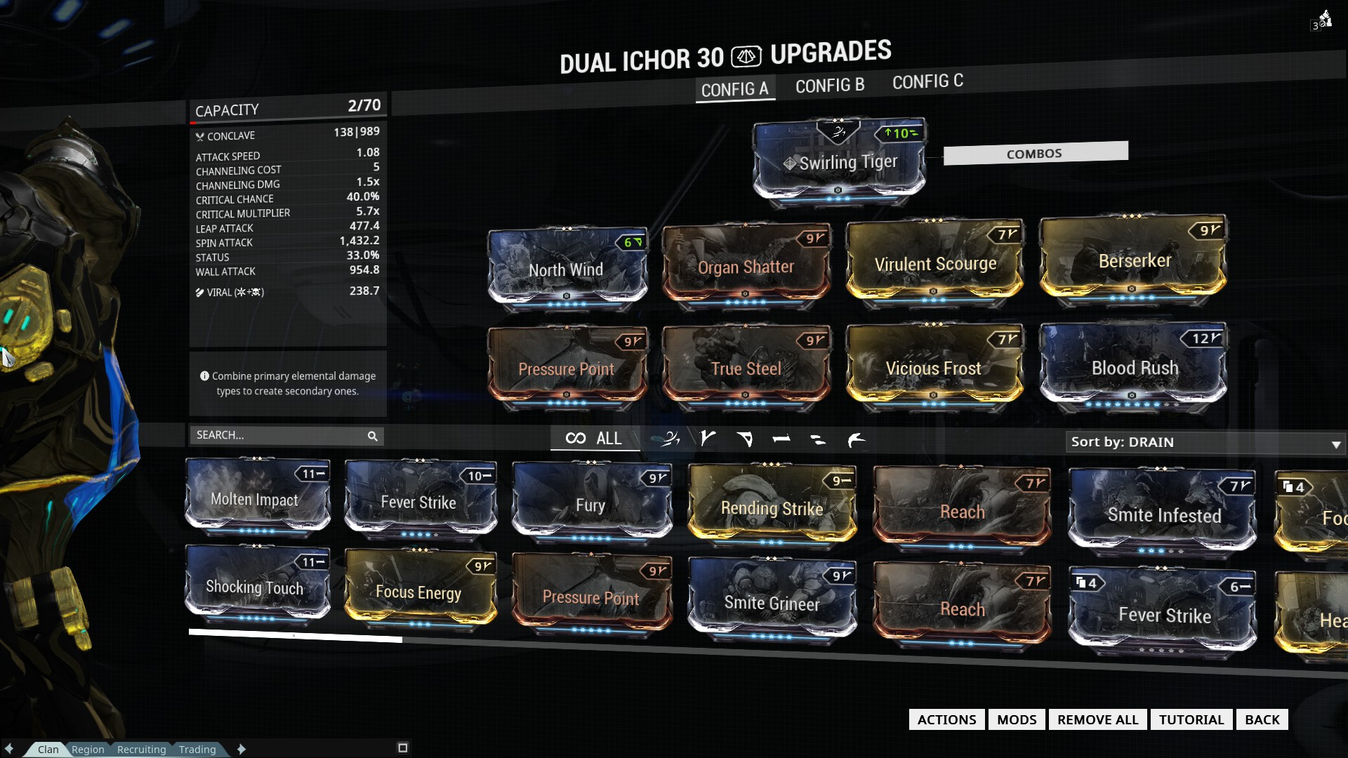 Warframe Octavia Build