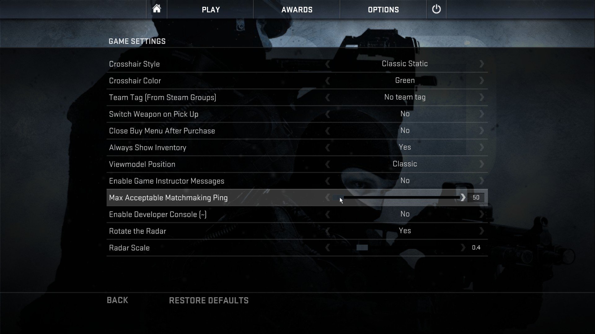 CS GO console commands launch options and configs