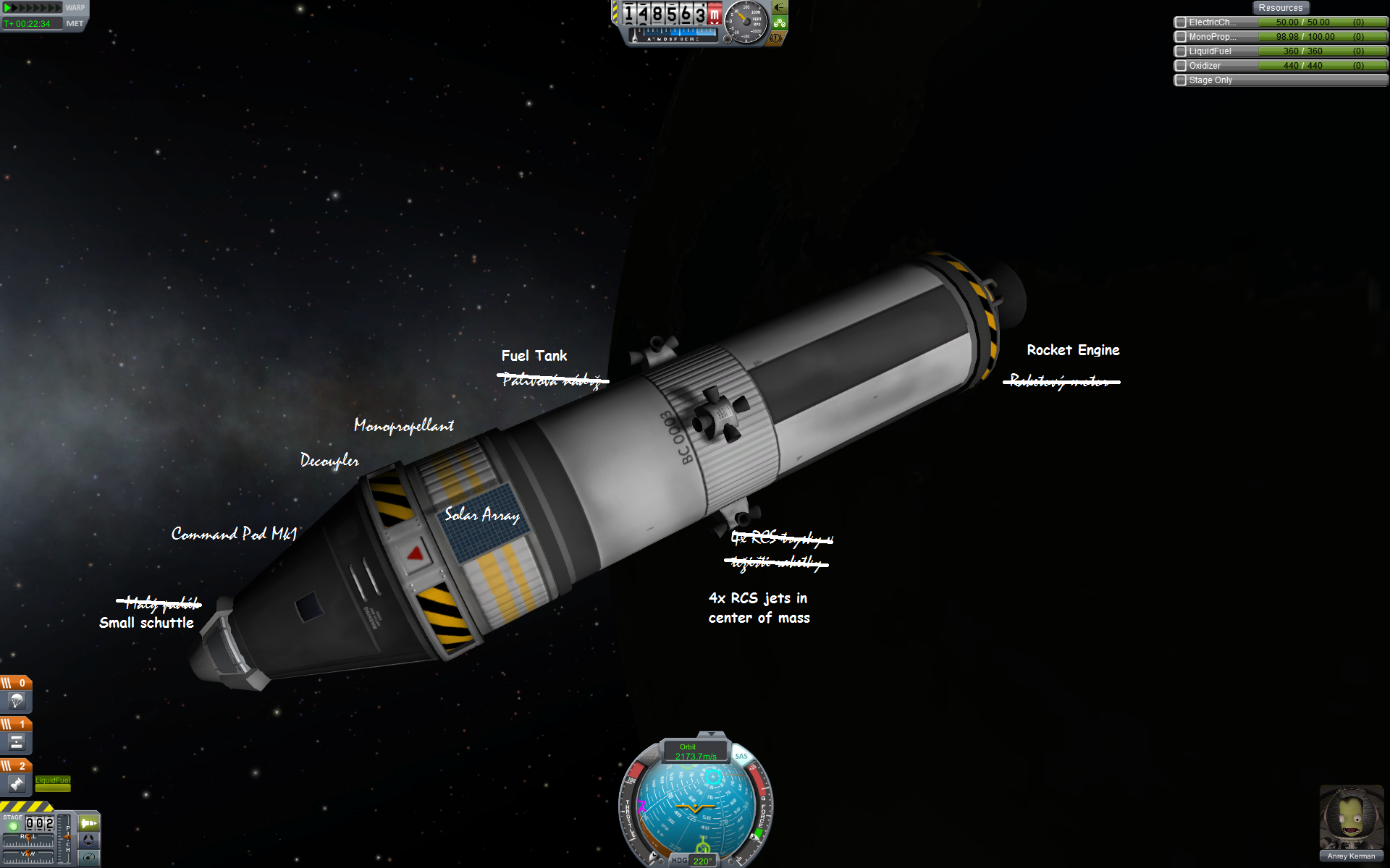 simple rocket kerbal space program - photo #17