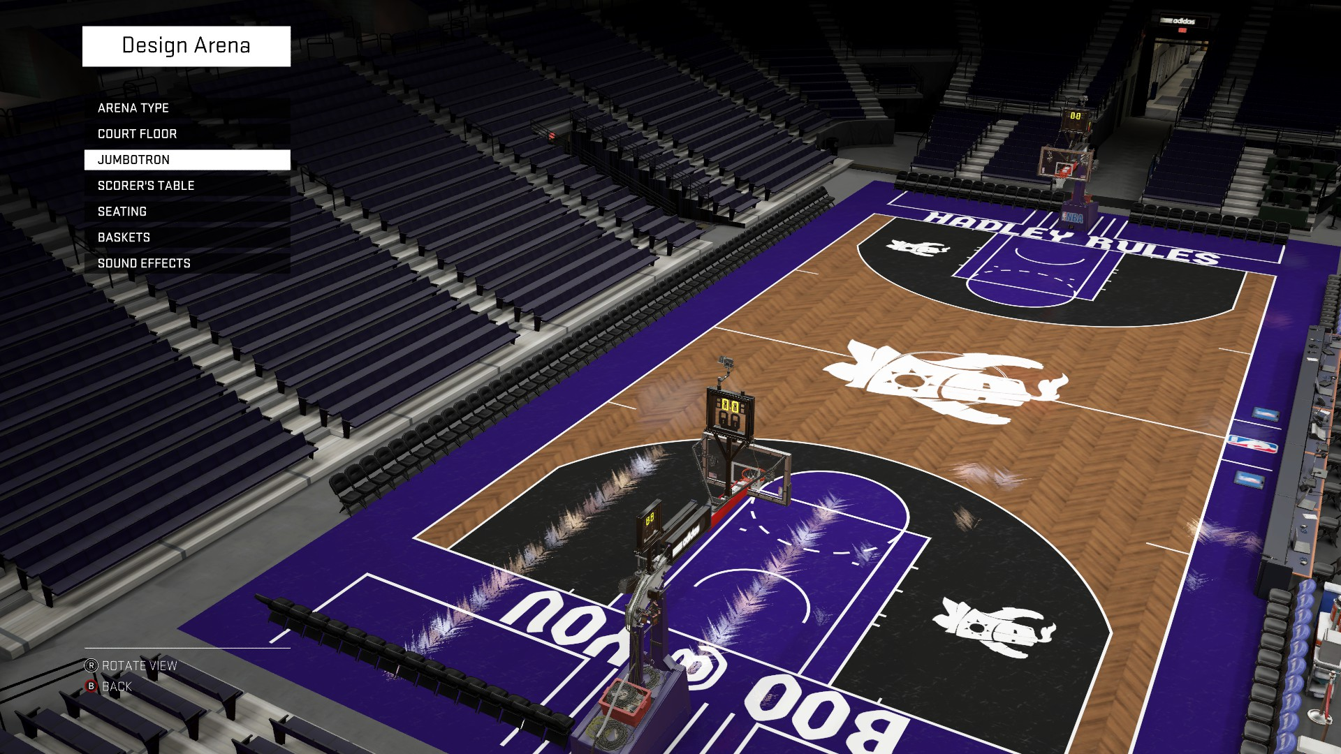 Nba 2k16 court designs and jersey creations page 10 for Design basketball court