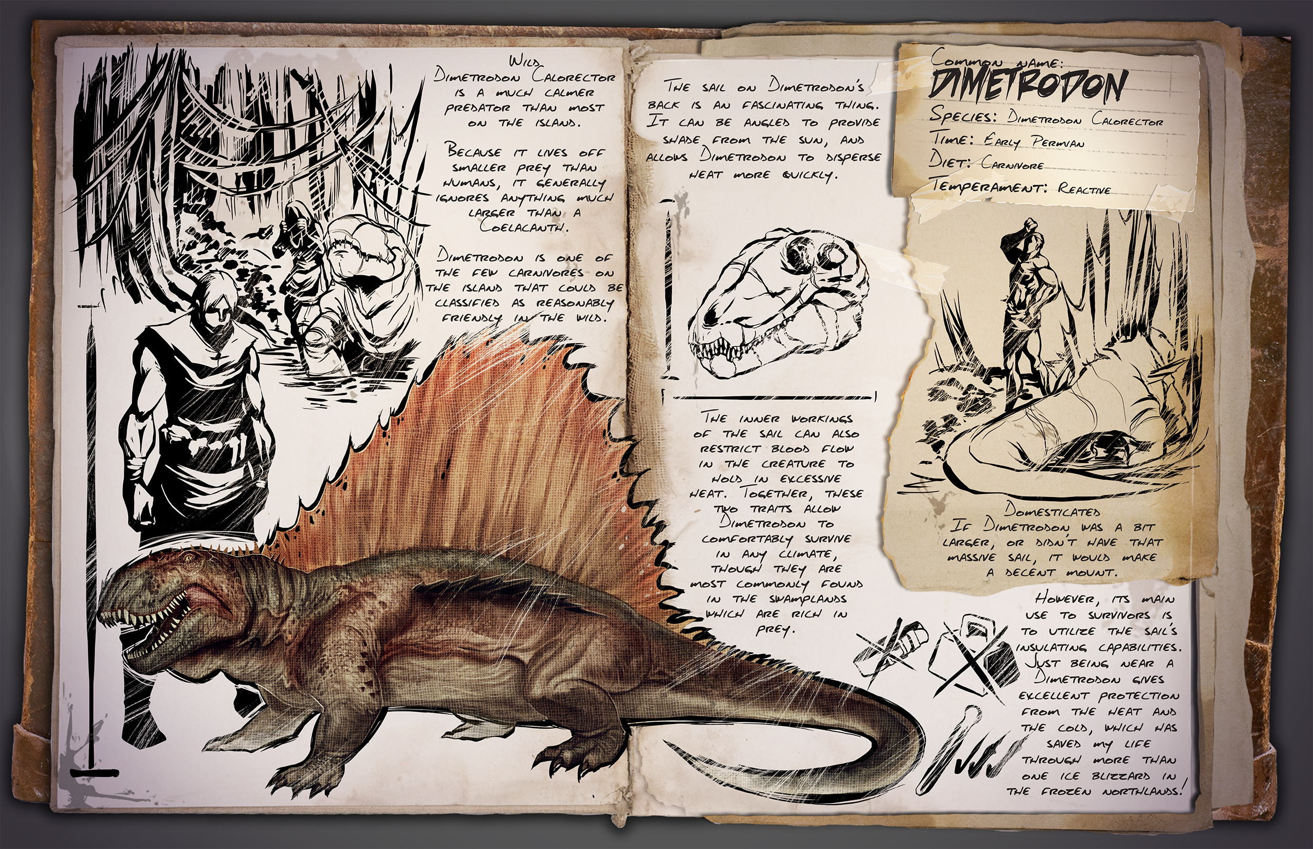 ARK Survival Evolved 07 03 15 Introducing The Dimetrodon And Independence Fireworks