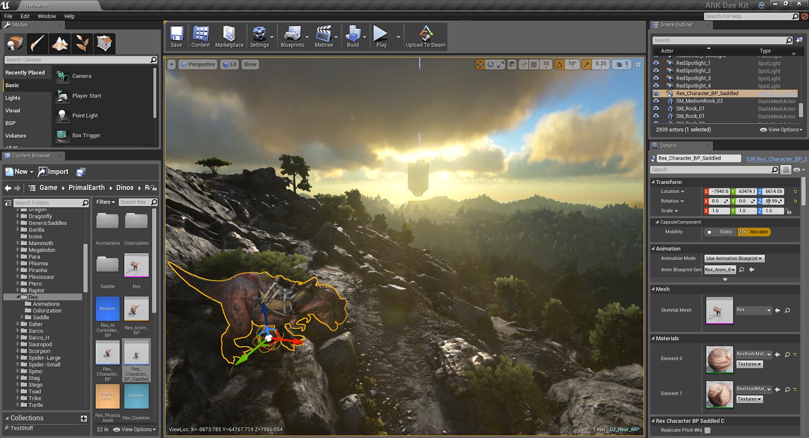 ARK Survival Evolved Dev Kit Update!