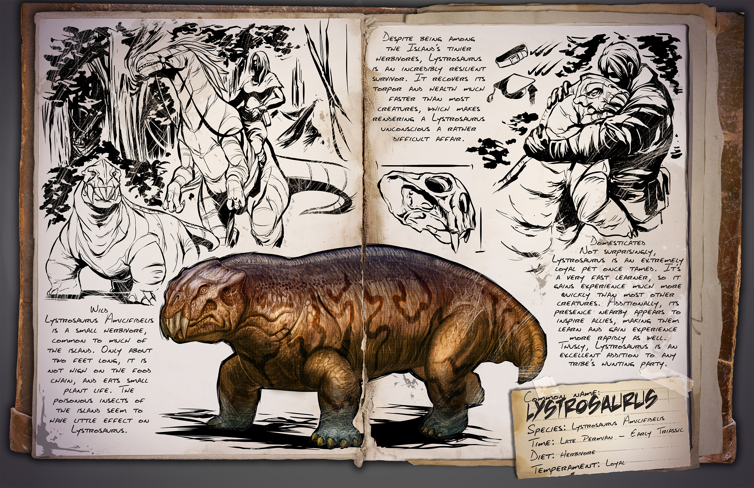 how to change the inprint of dinos ark